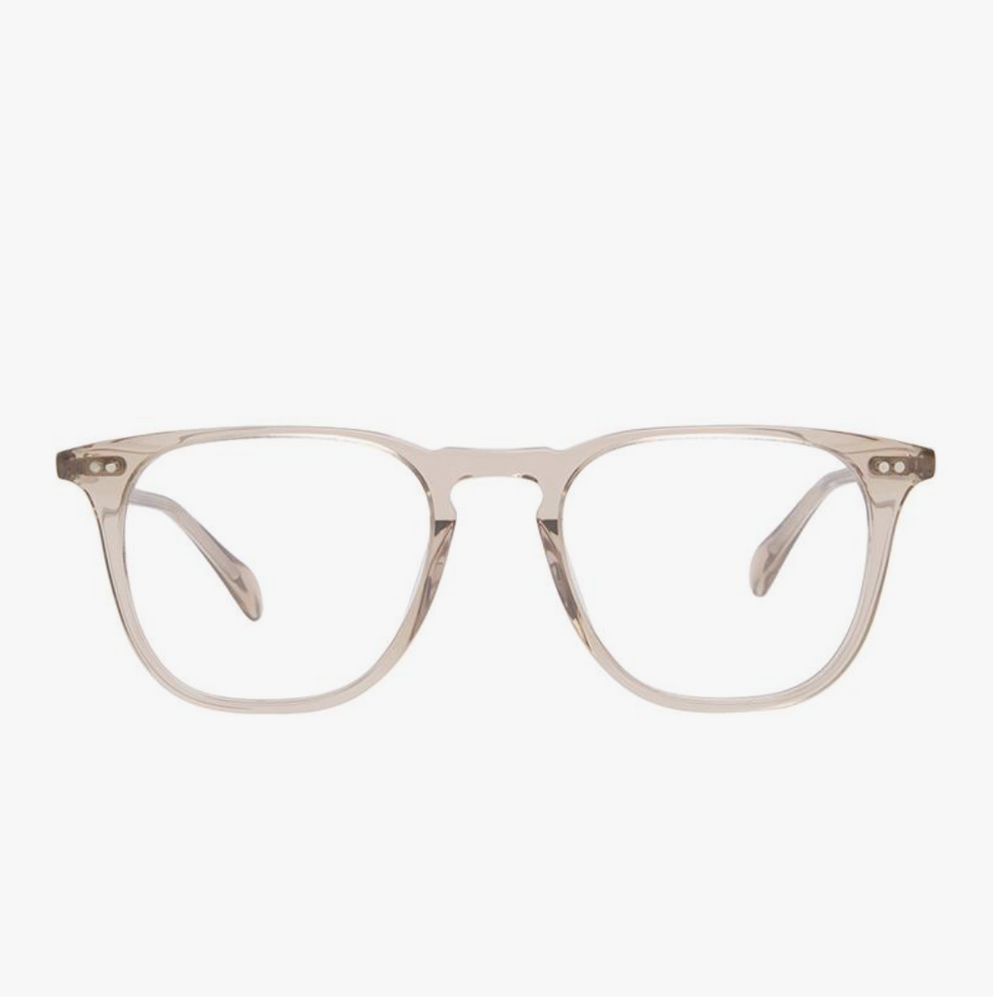 Diff Eyewear Maxwell - Vintage Crystal + Blue Light Tech Lens