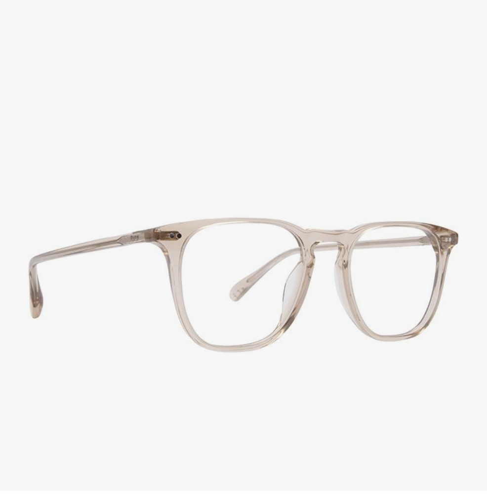 Load image into Gallery viewer, Diff Eyewear Maxwell - Vintage Crystal + Blue Light Tech Lens