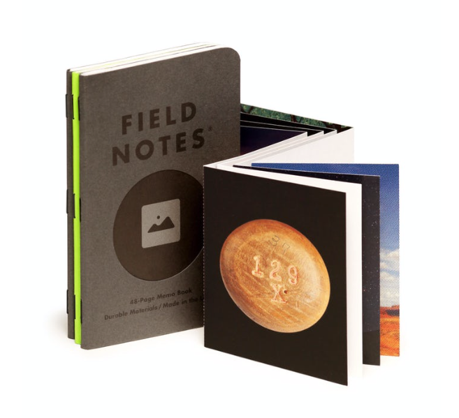 Field Notes Memo Book 3 Pack - Vignette
