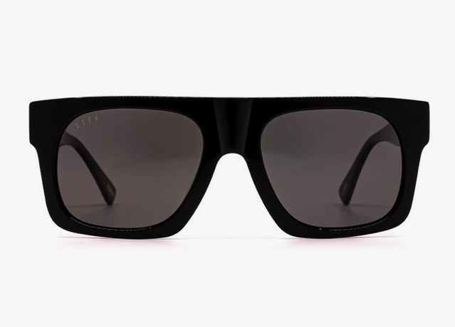 Diff Duke Sunglasses - 'Black Grey Polarized'