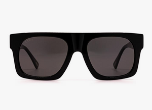Load image into Gallery viewer, Diff Duke Sunglasses - 'Black Grey Polarized'