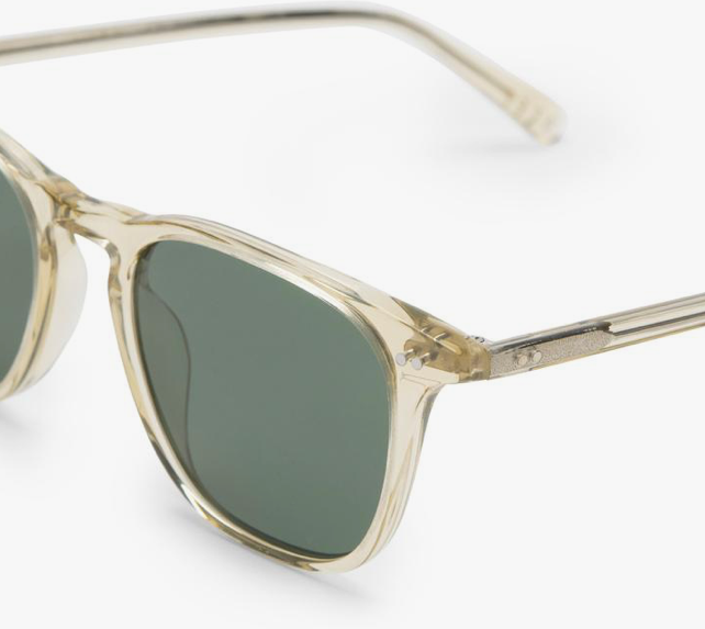 Load image into Gallery viewer, Diff Maxwell Sunglasses - 'Platinum Crystal G15 Polarized'