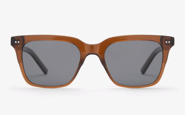 Diff Billie Sunglasses - 'Whiskey + Grey Polarized'