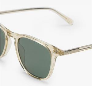 Load image into Gallery viewer, Diff Maxwell Sunglasses - 'Platinum Crystal + G15 Polarized'