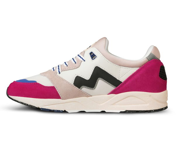 Load image into Gallery viewer, Karhu Aria 95 Sneakers - 'Jazzy/Black""
