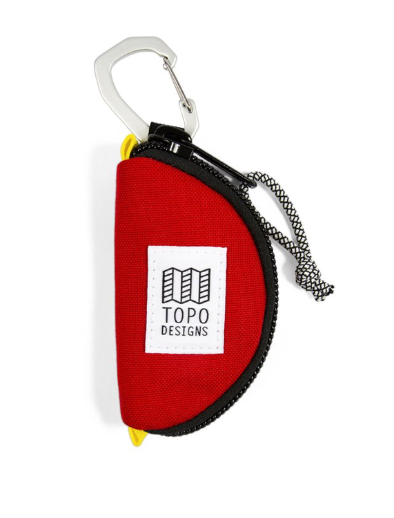 Topo Designs Taco Bag - 'Red'