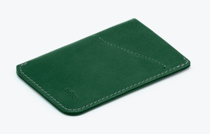 Bellroy Card Sleeve - 'Racing Green'