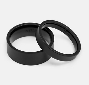 "Load image into Gallery viewer, Vitaly ""Grip"" Ring - 'Matte Black'"