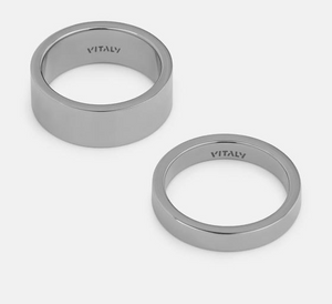 "Load image into Gallery viewer, Vitaly ""Grip"" Ring - 'Stainless Steel'"