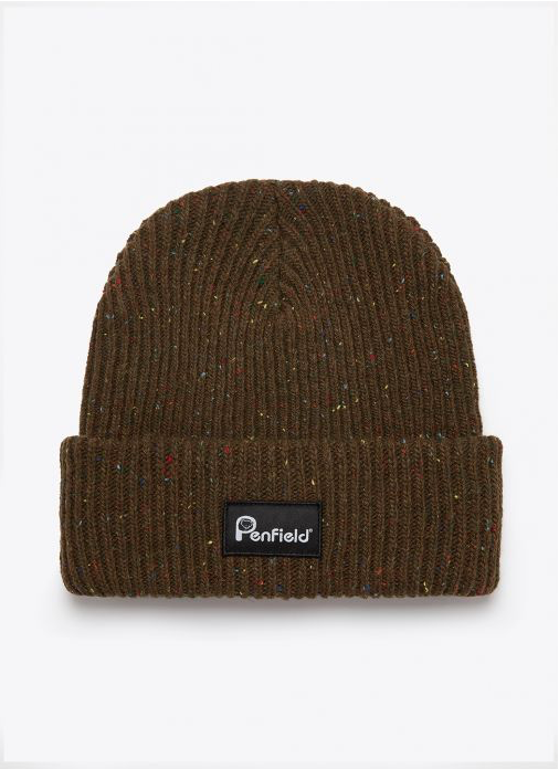 Penfield Harris Beanie - 'Dark Olive'