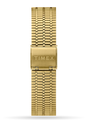 Load image into Gallery viewer, Timex Q Reissue Stainless Steel Watch - 'Gold & Blue'