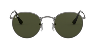 Load image into Gallery viewer, Ray-Ban Round Metal - 'Matte Gunmetal/G-15 Green'