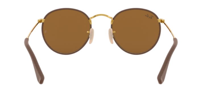 Load image into Gallery viewer, Ray-Ban Round Craft 'Leather Brown on Arista'