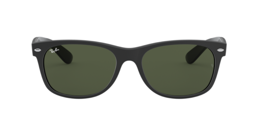 Ray-Ban New Wayfarer - 'Rubber Black on Black Polarized'