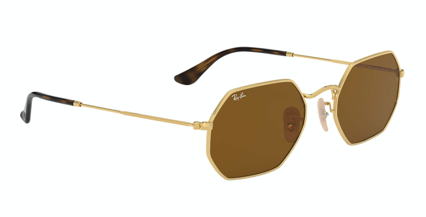 Load image into Gallery viewer, Ray-Ban Octagonal Classic 'Gold w/Brown'