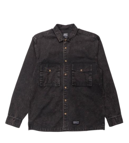 Publish Gray Button Up