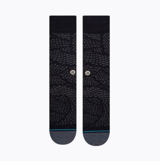 Load image into Gallery viewer, Stance Dress Socks - 'Slithers Black'