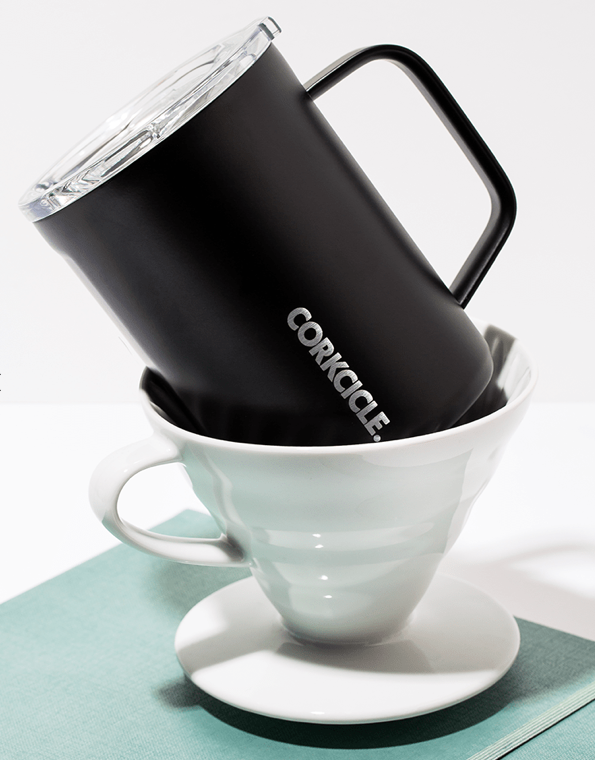 Load image into Gallery viewer, Corkcicle Coffee Mug 'Matte Black'