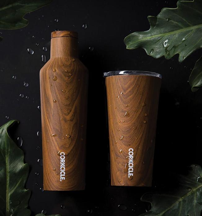 Load image into Gallery viewer, Corkcicle Origins Canteen  'Walnut'