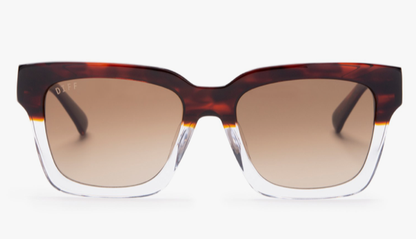 Load image into Gallery viewer, Diff 'Austen' Sunglasses - 'Deuce Brown Gradient'