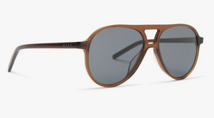 Load image into Gallery viewer, Diff 'Jett' Sunglasses - 'Whiskey Grey Polarized'