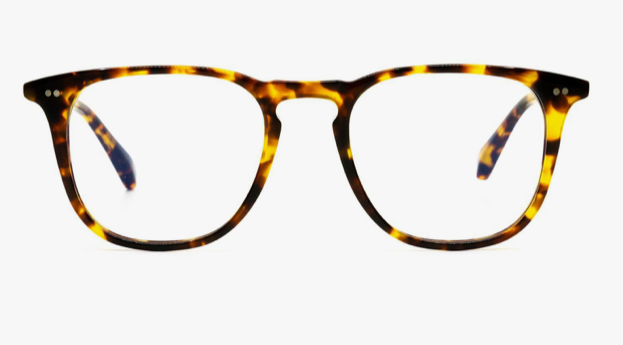 Diff 'Maxwell' Eyewear - 'Amber Tortoise Blue Light Technology'