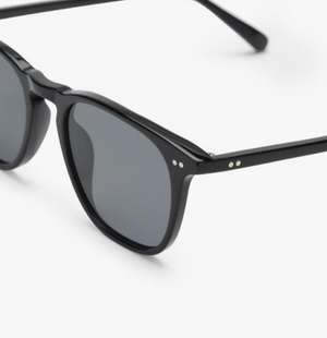 Load image into Gallery viewer, Diff 'Maxwell' Sunglasses - 'Black Grey Polarized'