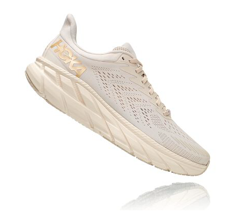 Hoka Clifton 7 'Almond Milk / Bronze'