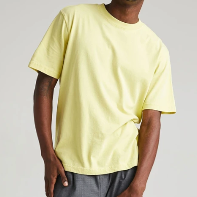 Men's Relaxed Tee - 'Pale Green'