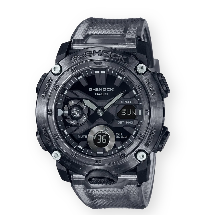 G-SHOCK GA2000SKE-8A 'Transparent Black'