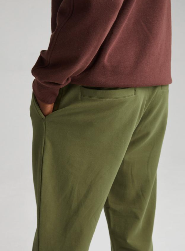 Load image into Gallery viewer, Richer Poorer Terry Trouser - 'Olive Army'