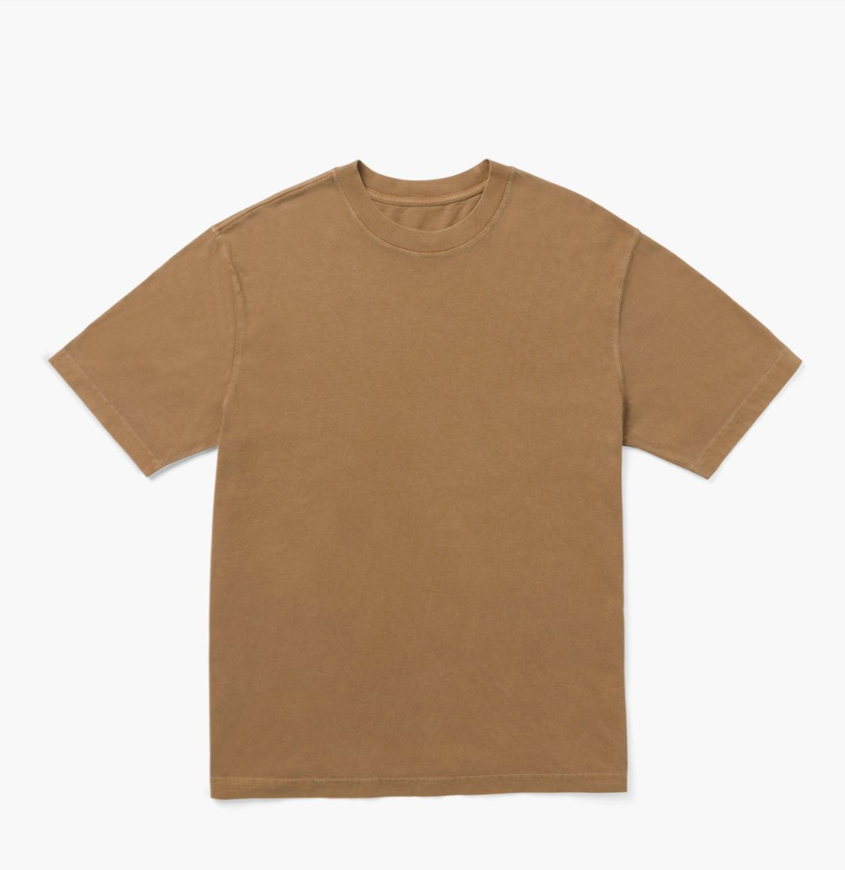Load image into Gallery viewer, Richer Poorer Relaxed Tee - 'Woodgrain'