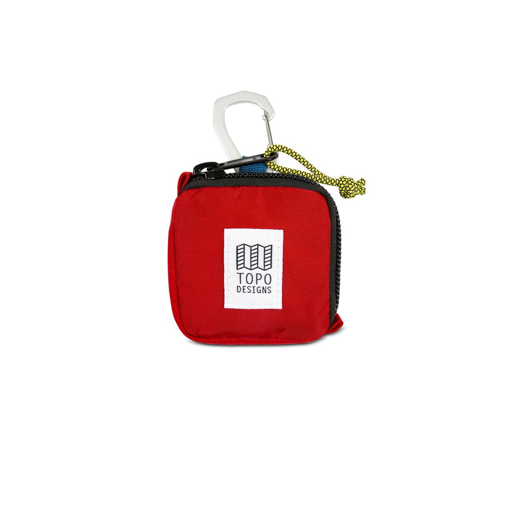 Topo Designs Square Bag - 'Red'