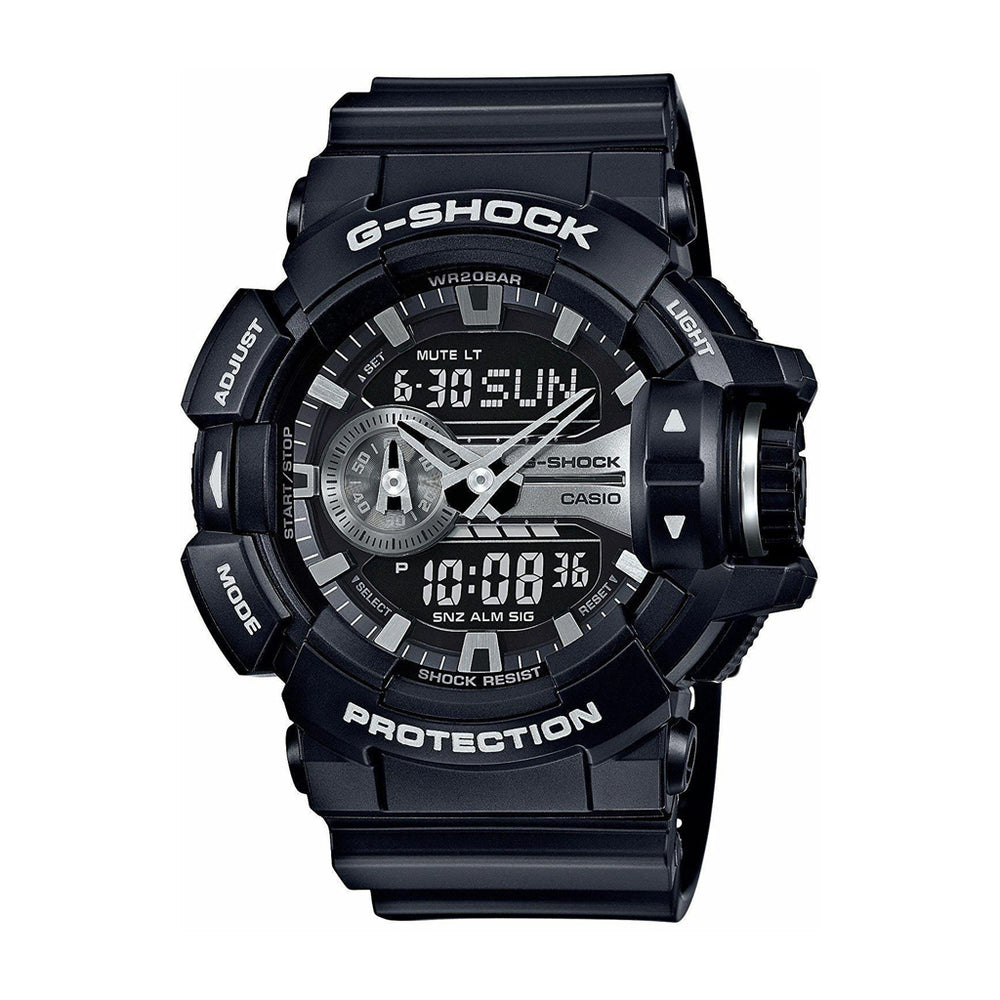 G-Shock Garish GA-400GB-1A 'Black / Silver'