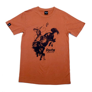 Load image into Gallery viewer, FORTS Cowboy SS T-Shirt - 'Copper'