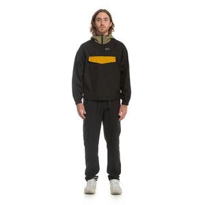 Load image into Gallery viewer, Publish - DISS ANORAK - 'Black / Gold""