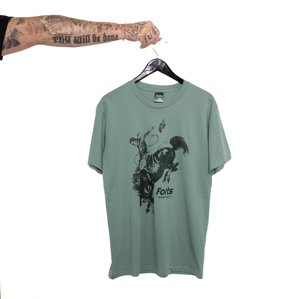 FORTS Cowboy SS Tee - 'Sage'