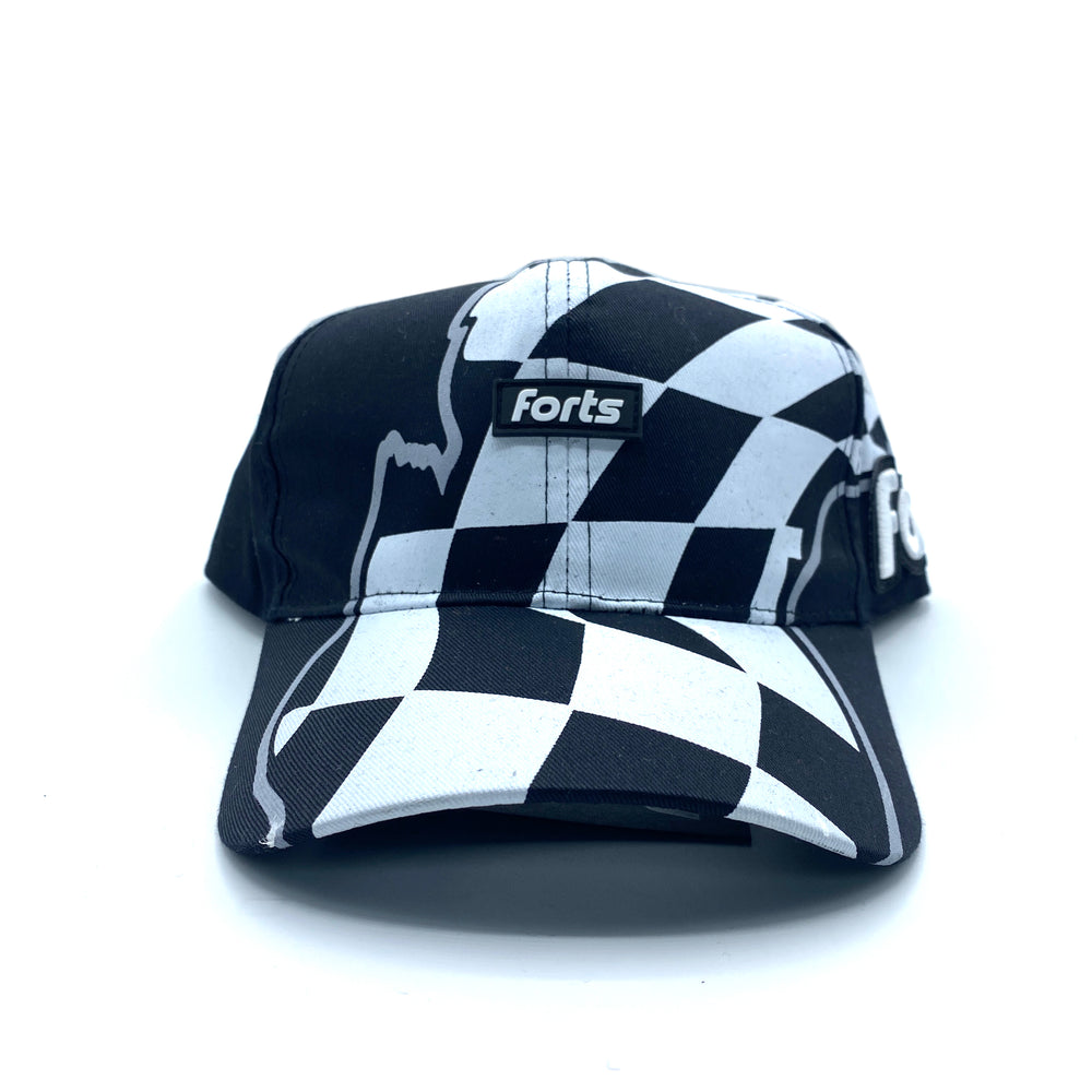FORTS 5-Panel Hat - 'Checkered'