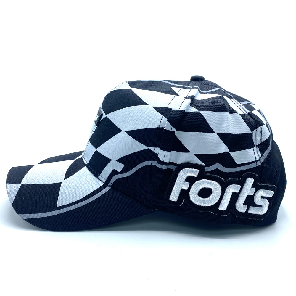 Load image into Gallery viewer, FORTS 5-Panel Hat - 'Checkered'