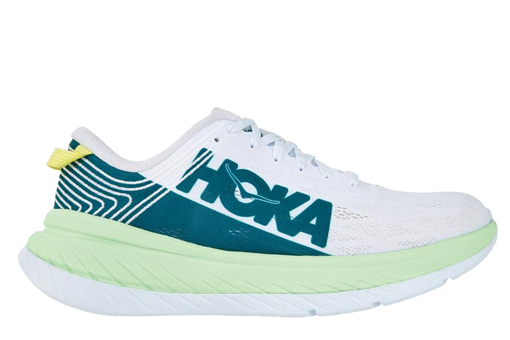 Hoka One One Carbon X - 'Green Ash / White'