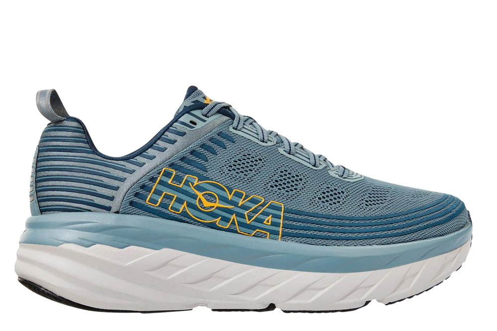 Hoka One One Bondi 6 - 'Lead / Majolica Blue'