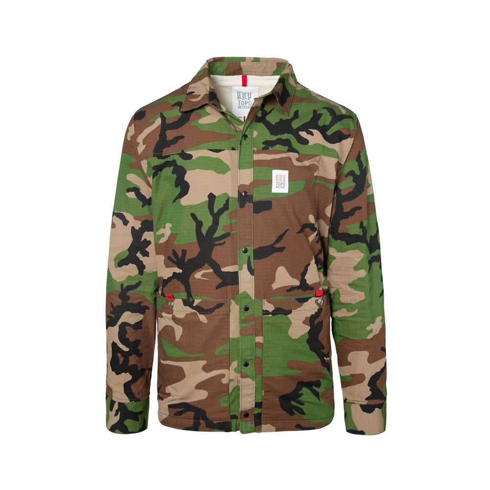 Topo Designs Field Jacket - 'Camo'