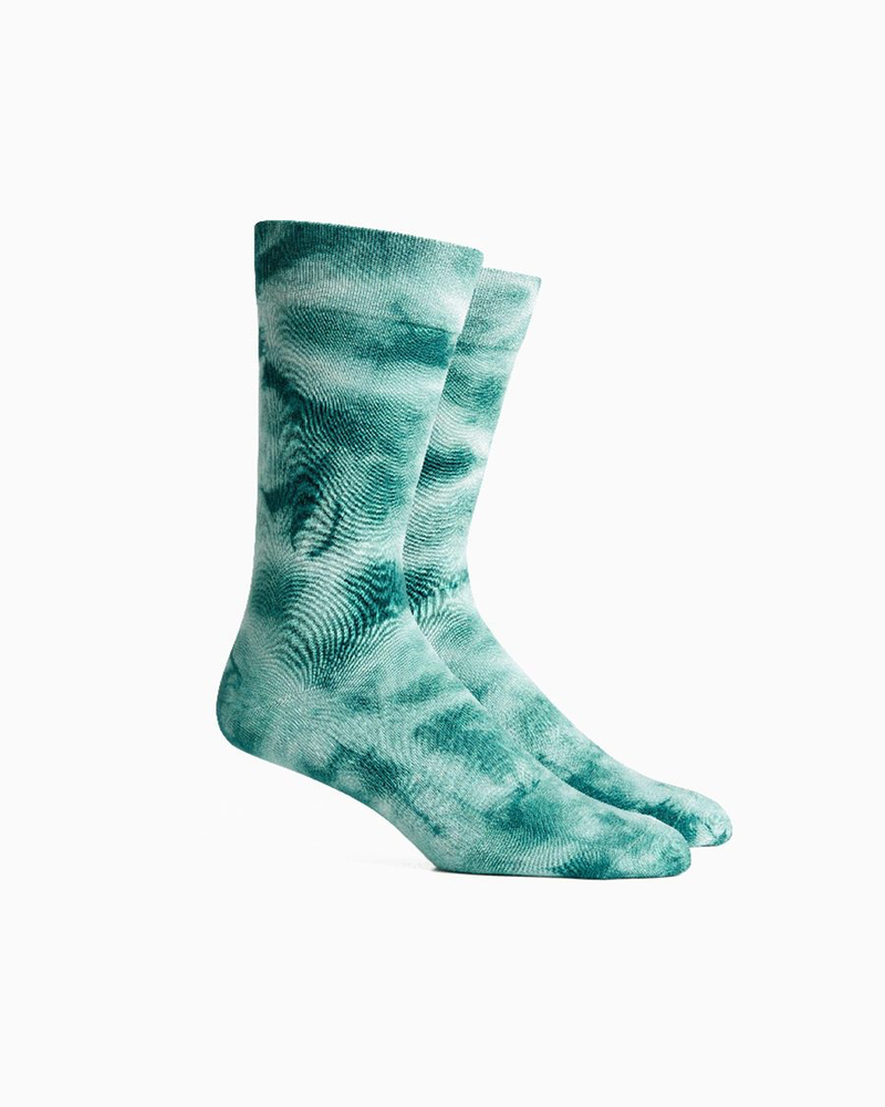 Load image into Gallery viewer, Richer Poorer Tie Dye Socks - 'Evergreen'