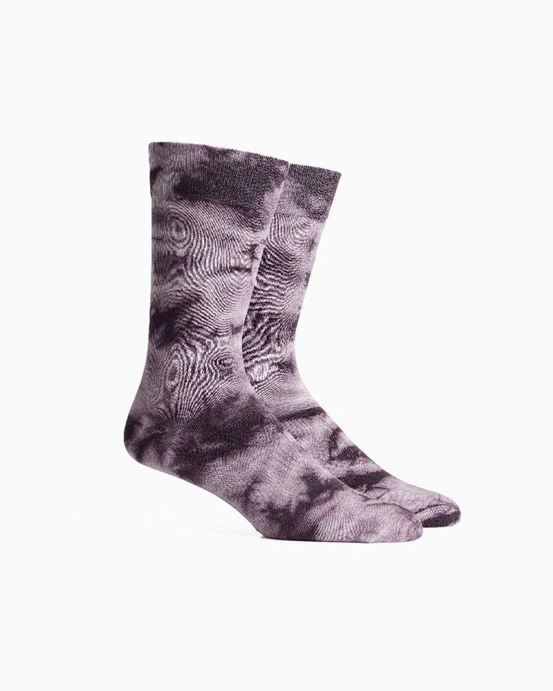 Richer Poorer Tie Dye Socks - 'Fig'