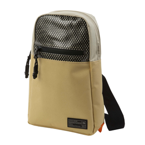 Load image into Gallery viewer, HEX ASPECT MESH SHOULDER BAG - 'TAN'