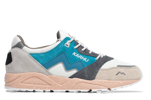 Load image into Gallery viewer, Karhu Aria 95 Sneakers - 'Whitecap Grey/Mosaic Blue""
