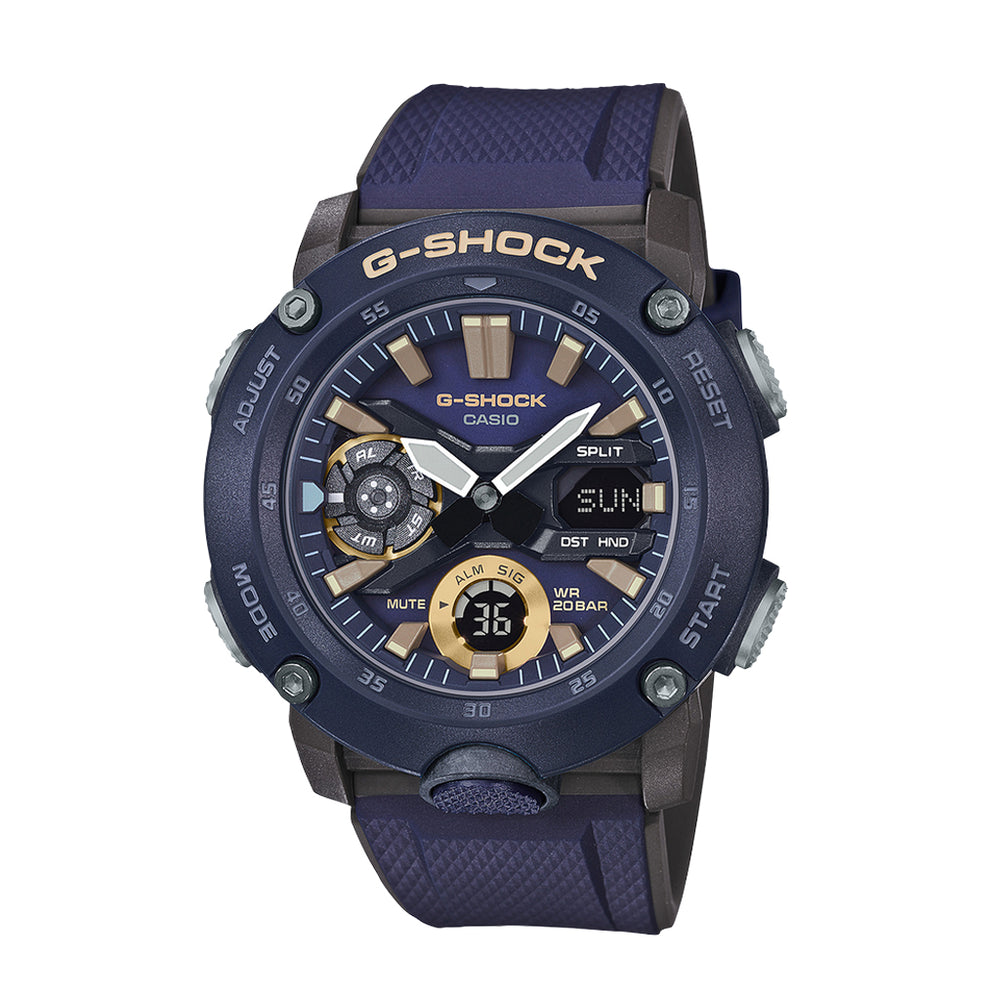 G-Shock GA2000-2A - 'Navy/Gold''