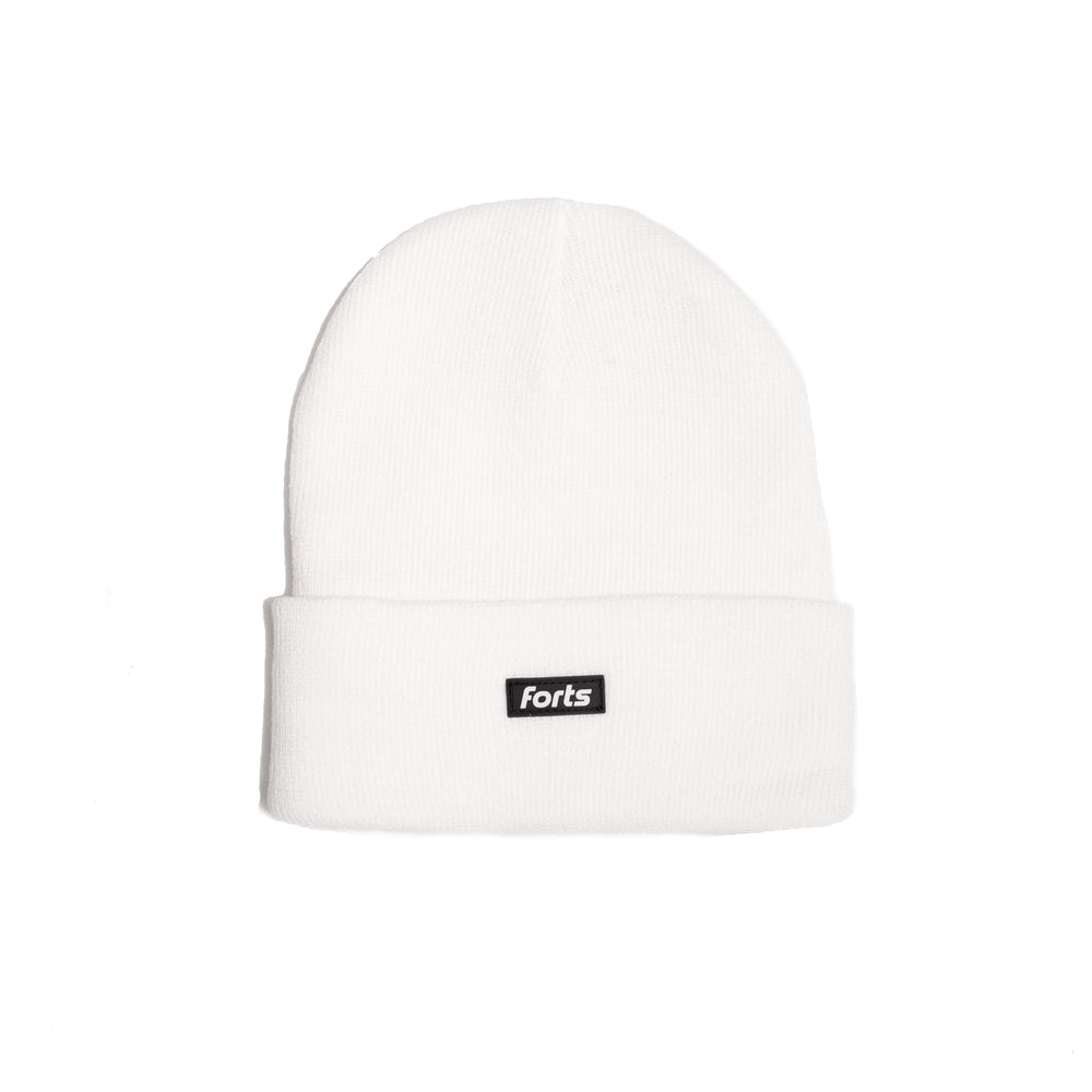 Load image into Gallery viewer, FORTS Beanie - 'White'