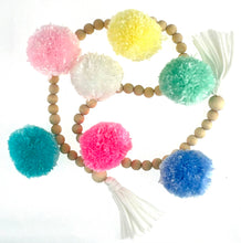 Load image into Gallery viewer, Garlands - loads of fun - pom poms and tassels