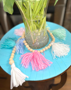 Garlands - loads of fun - pom poms and tassels